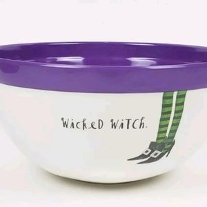 NWT Rae Dunn Halloween Wicked Witch Bowl